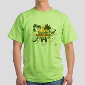 Palm Tree Costa Rica Green T-Shirt