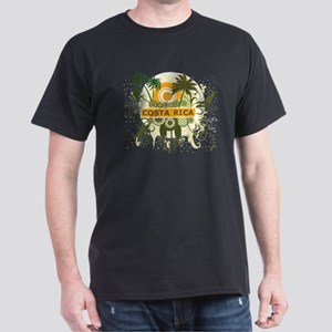 Palm Tree Costa Rica Dark T-Shirt