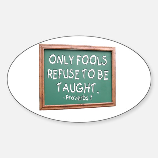 Only Fools Oval Decal