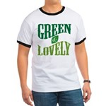 Earth Day : Green & Lovely Ringer T