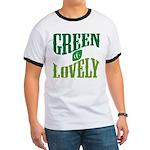 Earth Day : Green & Lovely Ringer T