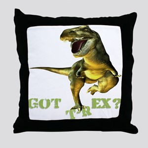 Got T-Rex Throw Pillow