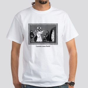 Raising of Lazarus White T-Shirt