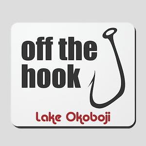 Off the Hook Mousepad