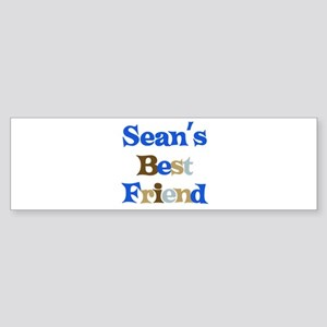 Sean's Best Friend Bumper Sticker