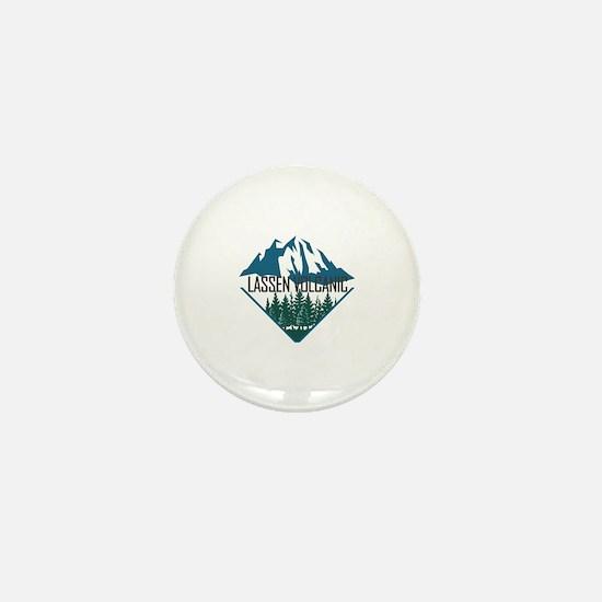 Unique Volcanic Mini Button