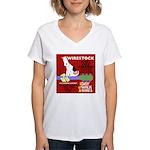 Wirestock Women's V-Neck T-Shirt