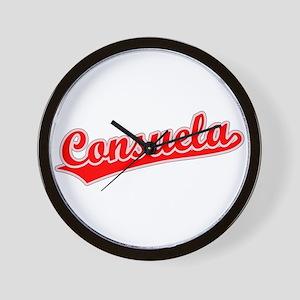 Retro Consuela (Red) Wall Clock