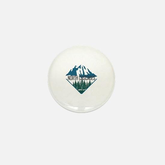Cute Cascades Mini Button