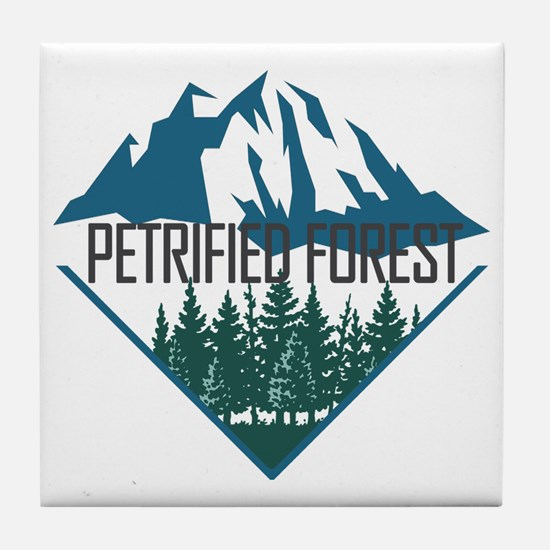 Cute Petrified forest Tile Coaster
