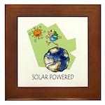 Solar Powered Framed Tile
