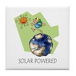 Solar Powered Tile Coaster