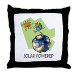Solar Powered Throw Pillow