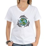 Save our Planet Women's V-Neck T-Shirt