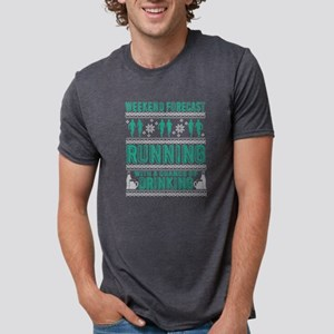 Running With A Chance Of Drinking T Shirt T-Shirt