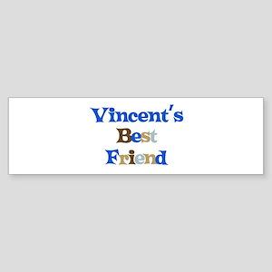 Vincent's Best Friend Bumper Sticker