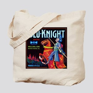 Blue Knight Tote Bag