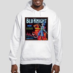 Blue Knight Hooded Sweatshirt