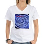 Abyss or a Doorway? Women's V-Neck T-Shirt