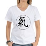 Encircled by Chi Women's V-Neck T-Shirt