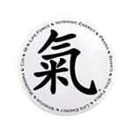 """Encircled by Chi 3.5"""" Button (100 pack)"""