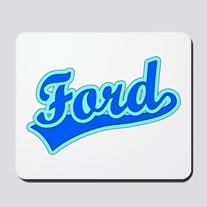 Retro Ford (Blue) Mousepad