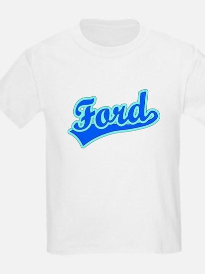 Retro Ford (Blue) T-Shirt