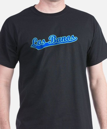Retro Los Banos (Blue) T-Shirt