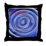 Abyss or a Doorway? Throw Pillow