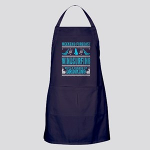 Windsurfing With A Chance Of Drinking Apron (dark)