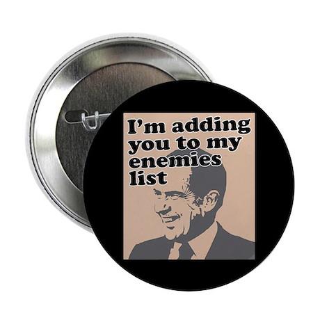 "My enemies list 2.25"" Button"