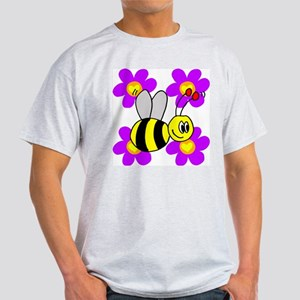 Bumble Bees Ash Grey T-Shirt