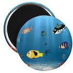 Oceans Of Fish Magnet