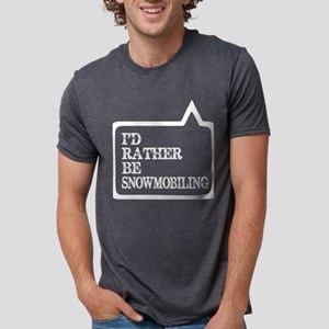 I Did Rather Be Snowmobiling T-Shirt