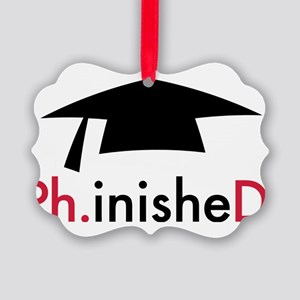 Phinished Picture Ornament