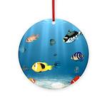 Oceans Of Fish Ornament (Round)