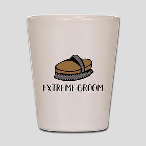 extrem groom Shot Glass