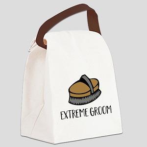 extrem groom Canvas Lunch Bag