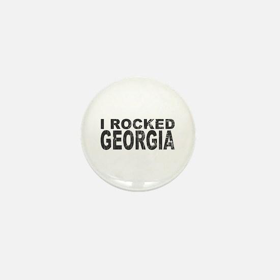 I Rocked Georgia Mini Button