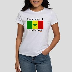 Senegal - Heart Women's T-Shirt
