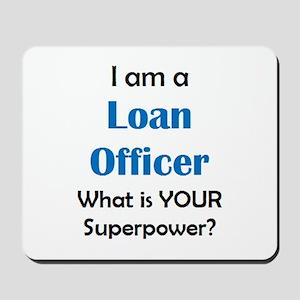 loan officer Mousepad