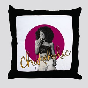 Chakaholic Throw Pillow