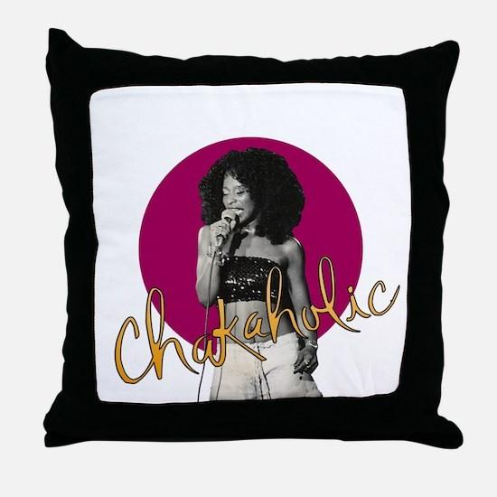 Chakaholic Throw Pillow