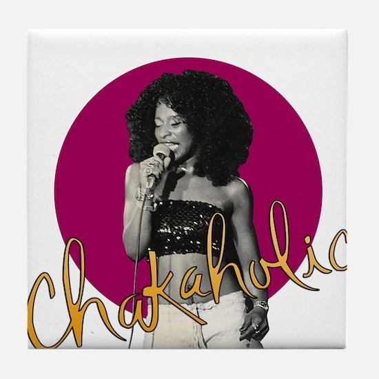 Chakaholic Tile Coaster