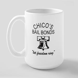 Chico's Bail Bonds Tee! Large Mug