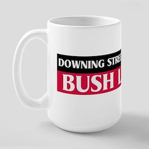 Downing Street Memo: Bush Lie Large Mug
