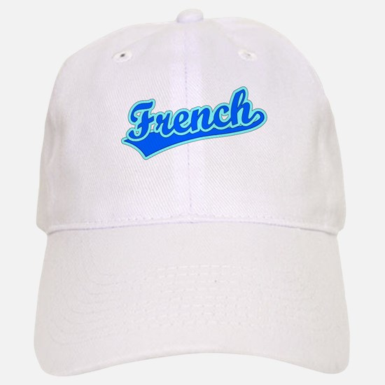 Retro French (Blue) Baseball Baseball Cap
