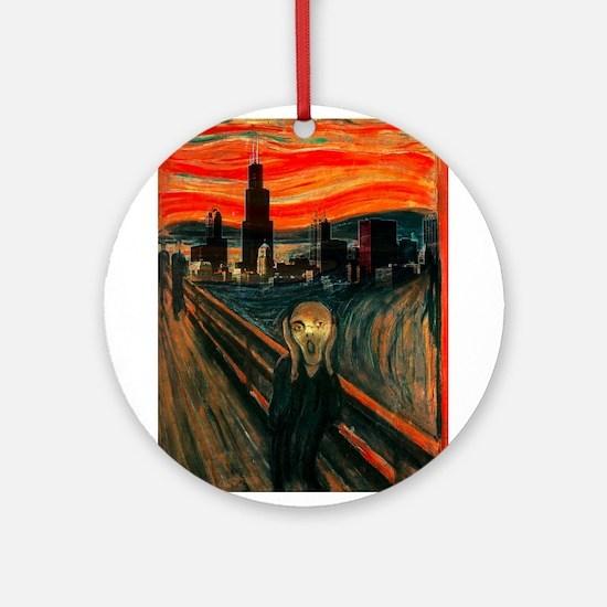 The Scream Series Ornament (Round)