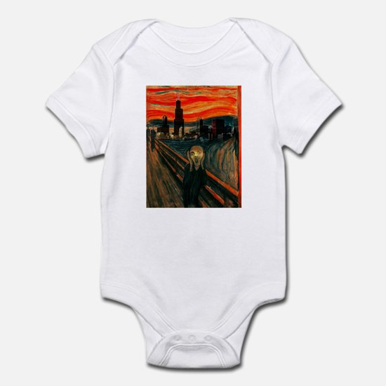 The Scream Series Infant Bodysuit