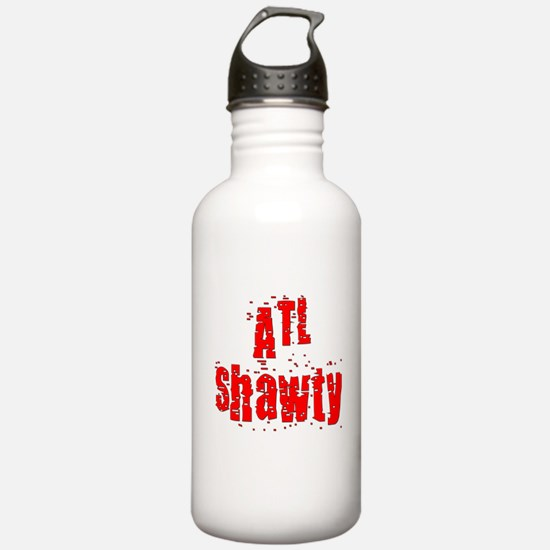atl shawty - red1.png Water Bottle
